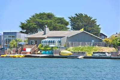 Serenity at Seadrift from across the lagoon