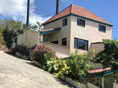 Bliss is the whole 2-story building you see here inc large deck, private parking