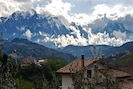 View of Gran Sasso Mountains from the house