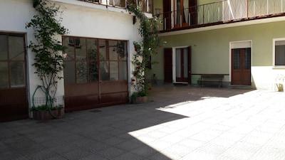La casa dei nonni a Moncrivello