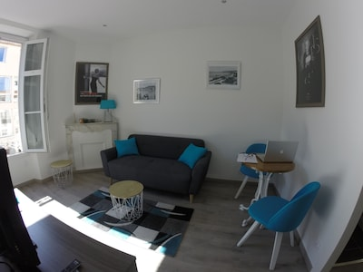 Apartamento ideal clasificado 2 * - 10 min Palais des Festivals / Croisette / Beaches
