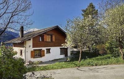 Corin-de-la-Crête, Crans-Montana, Sierre, Wallis, Zwitserland
