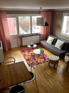 The Pink Cottage in Stockholm