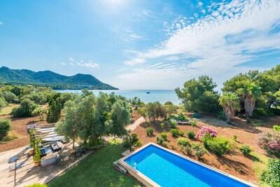 ES RACONET maison pour 8 personnes avec piscine à Costa de los Pinos www.Mallorcavillaselection.com