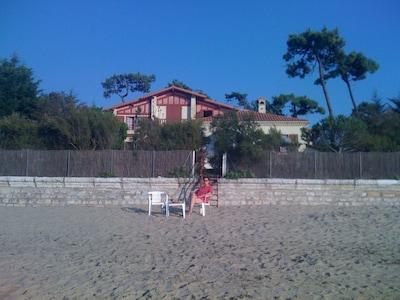 Villa Kichalain. vue de la plage.
