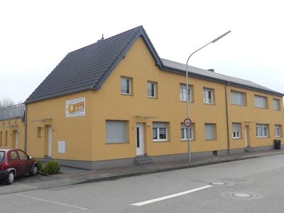 Gare de Geilenkirchen Lindern, Geilenkirchen, Rhénanie-du-Nord-Westphalie, Allemagne