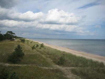 En härlig strandbild