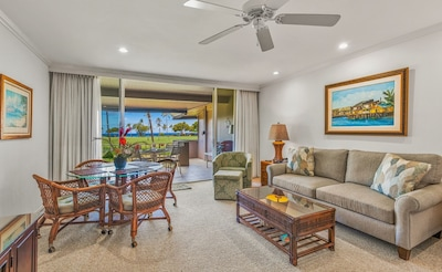 J220 interior with ocean & golf course view