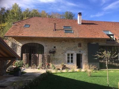 Région d'Orgelet, Jura, France