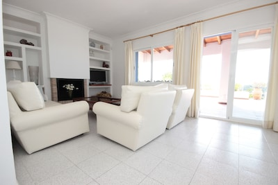 Living Room leading to Pool Terrace