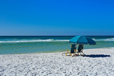 These beautiful beaches are 250 steps away!