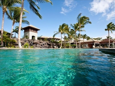 Pool at the Fairways Mauna Lani...the best pool in our opinion in the MLani