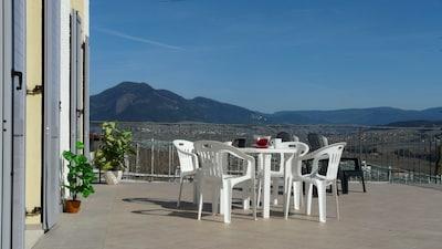 Tassullo, Ville d'Anaunia, Trentino-Südtirol, Italien