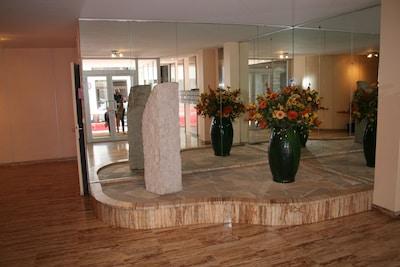 Décoration du hall de l'immeuble