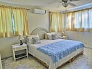 Master Suite With Private Bathroom.  Air Conditioned, Ceiling Fan And TV