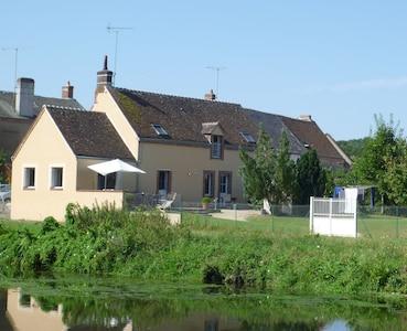 Cloyes-les-Trois-Rivières, Eure-et-Loir (department), France