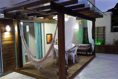 Desfrute o melhor de suas Férias no paraíso em 4 Ilhas em um aconchegante Loft