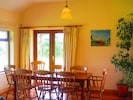 Dining room with views of Ballinskelligs Bay and Reenroe Beach