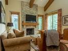 very cozy living room
