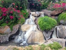 Waterfall at our pool.
