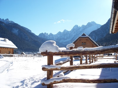 Kanin-Sella Nevea Ski Resort, Chiusaforte, Friuli Venezia Giulia, Italy