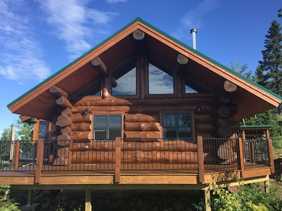 The Face of Falls Ridge Log Cabin
