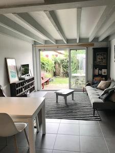 Salon sur jardin sans vis à vis
