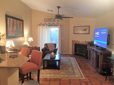 """Family Room with 55"""" SmartTV"""