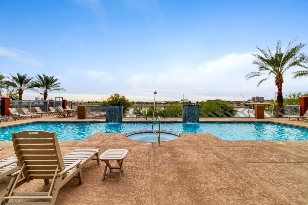 Enjoy a swim in the large heated pool its perfect for those cooler days!