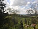 Blick in die Rhön von der Terrasse