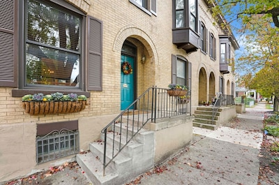 Our Townhome is part of a beautiful historic building.