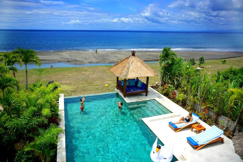 Feel The Magic Of Bali In A Luxury Beachfront Villa Melaya