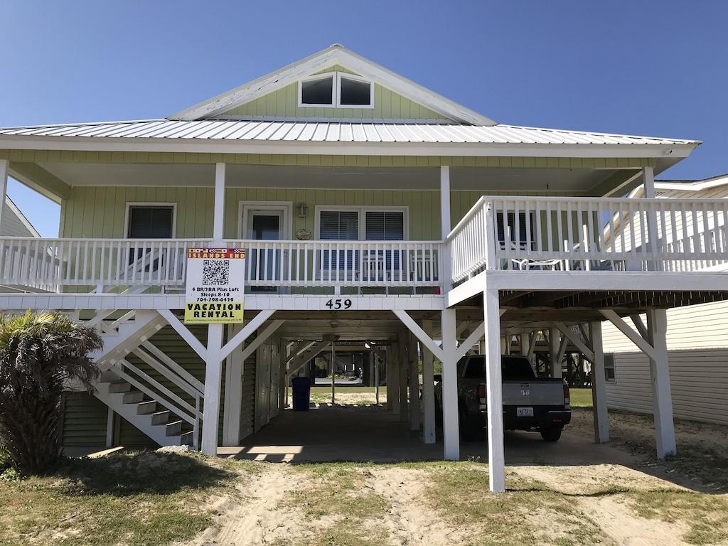 Islands End Almost Oceanfront Ocean Isle Beach Nc Vacation Rental Free Wi Fi Ocean Isle Beach