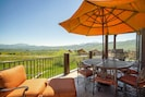 Enjoy spectacular views, relax on the patio with seating for 8 while you BBQ!