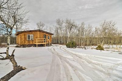Book this 2-bedroom, 1-bathroom vacation rental cabin in Babb, Montana.