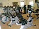 Fully equipped work out room
