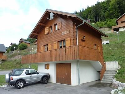 Le Biot, Haute-Savoie, France