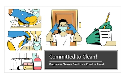 We are committed to clean!