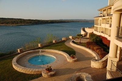 View of Lake Travis from our Balcony