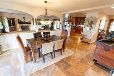 Main dining room open to kitchen & living for great family time!