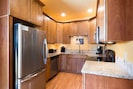 Completely updated, granite countertops, stainless steel, Fully stocked ckitchen