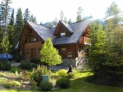 Front of Chalet in Summer