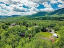 Look how spectacular the location is - truly nestled in the Green Mts.