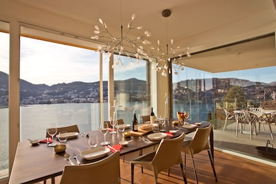 """Amazing view from every room at the  """"Luxury Lake Como Penthouse"""""""