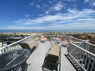 Deck View of Beach