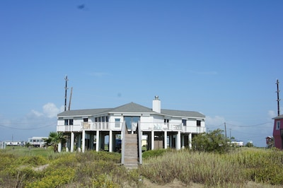 View of House from the Beach