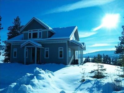 Winter wonderland in the sub-Alpine wilderness, where the comforts are plentiful