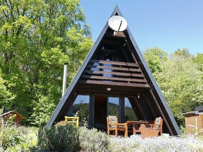 Gemütliche Ruhe am Waldrand mit Sauna