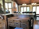 Kitchen prep and storage island