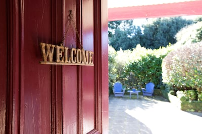 Welcome!  We hope you enjoy your stay.